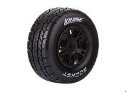 LOUISE SC-ROCKET 1/10 Scale Truck Tyres Soft Compound / Black Rim
