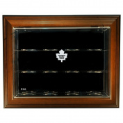 Toronto Maple Leafs 12 Puck Case-Up Display Case, Brown