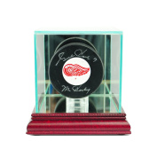 NHL Single Hockey Puck Glass Display Case