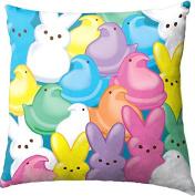 Just Born Peeps 'Multi Peeps' 30cm x 30cm Travel Dec Pillow