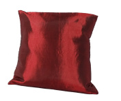 Cozymomo Maroon Red Throw Pillow Cover Decorative Sofa Couch Cushion Cover Zipper 16 x 16 Inchs