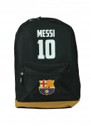 FC Barcelona Messi Soccer Backpack Schoolbag Adjustable Straps