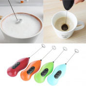 New Coffee Milk Electric Whisk Mixer Foamer Frother Kitchen Egg Beater Practical