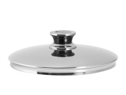 Inoxpran Classic Lid, Stainless Steel, Grey, 21 x 21 x 7 cm