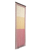 catral 71060026 - Wood Curtain SUNSET L60, 200 x 90 cm, Yellow/Red