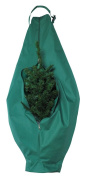 HomeCrate Christmas Holiday Tree Storage Bag For Tabletop Sized Trees 70cm x 130cm Dark Green