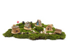 Ginsco 11pcs Miniature Fairy Garden