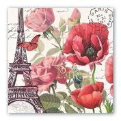 Toujours Paris Luncheon Paper Napkins
