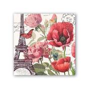 Toujours Paris Cocktail Paper Napkins