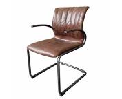 Urban9-5 Weston Side/Dining Chair, Brown