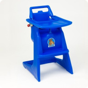 KB103-KB104 KOALA HIGH CHAIR AND TRAY COMBO - BLUE