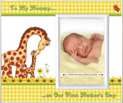 To Mommy on Our First Mother's Day (Gingham) - Picture Frame Gift