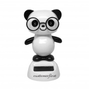 1X Customerfirst Solar Toy Panda