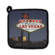 Gear New 5649400-GN-PH1 Las Vegas Welcome Sign Pot Holder