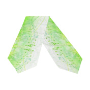 ABLINK Green Song White River Polyester Table Runner 33cm x 180cm Long Table Top Decoration
