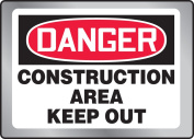 CONSTRUCTION AREA KEEP OUT