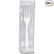 Monarch White Wrapped Fork -- 1000 per case.