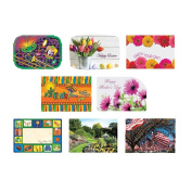 Hoffmaster Spring Seasonal Occasions Paper Placemat, 25cm x 36cm -- 1000 per case.