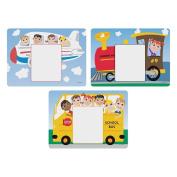 Hoffmaster 3 Designs Kids Menu Paper Placemat, 22cm x 30cm -- 1002 per case.