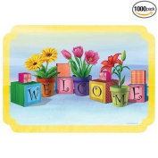 Hoffmaster Welcome All Paper Placemat, 25cm x 36cm -- 1000 per case.