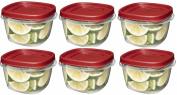 Rubbermaid 7J60 Easy Find Lid Square 2-Cup Food Storage