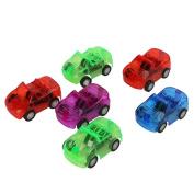 SCASTOE 1pc Children Mini Pull Plastic Back Car Wheels Toy Model Kids Play Vehicle Toy