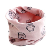 2016 New O Ring Owl Patterns Scarf Baby Kids Neckwear Collars Scarves Accessory