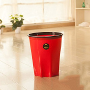 Kitchen Living Room Trash Creative Toilet Toilets Household Trash Cans Large Non-covered With Pressure Circle Circular Basket