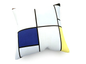 Piet Mondrian - Tableau I - Composition - 1921 - 40x40 cm - weewado - cushion / pillow - art, picture, painting, photography
