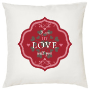 I AM IN LOVE WITH YOU CUSHION - Romantic / Love / Valentines Day / Wedding Gift / Gift Idea / Home Decor