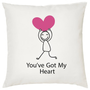 YOU'VE GOT MY HEART CUSHION - Romantic / Love / Valentines Day / Wedding Gift / Gift Idea / Home Decor