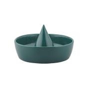 Storage Fruit Centrepiece Sombrero S Ceramic Green 100% made in Italy