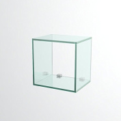 VE.ca-italy Cube Glass n.1 Cube Small 23 x 23 cm Made in Italy Included The Media for the wall installation