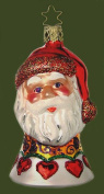 Inge-Glas Santa Bell Christmas Glass Ornament Made in Germany