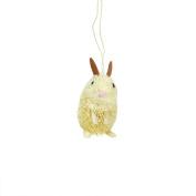 7.6cm Storybook Garden Bristled Sandy Brown Bunny Rabbit Christmas Figure Ornament