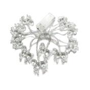 Penfly 1.65M 10LEDs Battery Operated Decorative Horse Shape String Light for Bedroom Festival Wedding White
