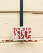 AG Designs Christmas Decor - Decorative Wreath Door Hanger - We Wish You 4-19/11