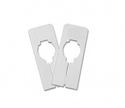 Only Hangers Clothing Rack Blank Rectangular Dividers - 100 Blank Rectangular Size Dividers - SHIPS FREE