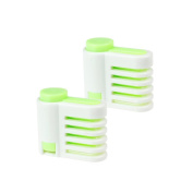 2Pcs Multifunction Cake Bread Cutter 5 Layers Slicer Cutting Kitchen Tools