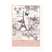 Michel Design Works Cotton Kitchen Dish Towel, Toujours Paris