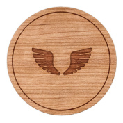 Wings Circle Magnet, Round Magnet, 5.1cm Refrigerator Magnet