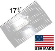 Modern Home Products BMHP9 Stainless Steel Heat Plate For Select Brinkmann and Charmglow Grills