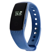 Fitness Tracker SE Group HR with Heart Rate and Sleep Monitor, OLED Touch Screen Smart Watch Fitness Band, Pedometer and Calories Counter, Updated version for Android and iPhone