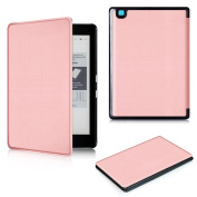 Wensltd Magnetic Auto Sleep Cover Case For NEW KOBO Arua Edition 2 eReader + HD Screen Protective Film +Touch Pen
