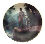 Appeasing The Water People The Prideful Ones Chuck De Haan Native American Plate CP2557