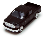 Dodge Ram 1500 Pickup Truck, Black - Jada Toys Just Trucks 97015 - 1/32 scale Diecast Model Toy Car