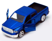 Dodge Ram 1500 Pickup Truck, Blue - Jada Toys Just Trucks 97015 - 1/32 scale Diecast Model Toy Car