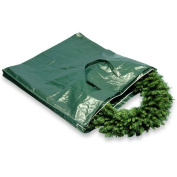 National Tree Heavy-Duty Wreath and Garland Storage Bag with Handles and Zipper, Fits up to 1.2m Decorated Wreath