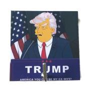 Agility Bathroom Wall Hanger Hat Bag Key Adhesive Wood Hook Vintage President Donald Trump's Photo