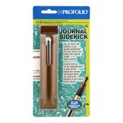 Itoya Brown ProFolio Sidekick Pen Holder